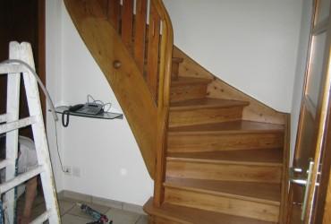 Holztreppen-Erneuerung