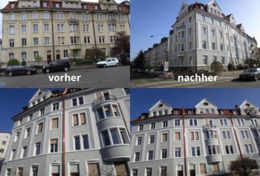 Fassadenrenovation Rissesanierung